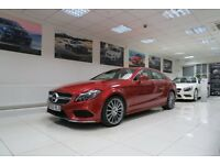 MERCEDES-BENZ CLS 2.1 CLS220 AMG Line 4dr (start/stop) Auto (red) 2015