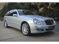2007 Mercedes Benz E280 CDi Sport Estate 7 seater Family car with DVD player