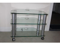 ***Glass TV Stand*** Strong and Reliable