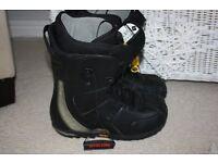 Burton Driver X Snowboard Boots UK Size 9