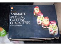 ANIMATED MUSICAL GREETING CHARACTERS