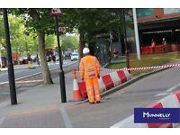 Traffic Marshal x 2 / CSCS / Central London / East London /1st Aug start / £9 per hour / 2 yr