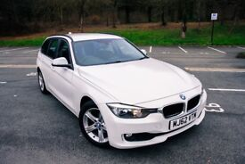 BMW 3 Series 2.0 316d SE Touring 5dr Glaciar White START/STOP 320d 318d £6999