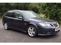 2010 Saab 9-3 Estate Full Cream Leather Heated Seats £4495