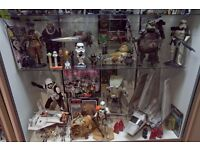 STAR WARS WANTED vintage old or new toys, action figures, ships, lightsabers etc GOOD PRICES PAID