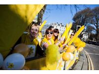 Cheer Squad Volunteer for Marie Curie - Liverpool Nightrider, Saturday 15 / Sunday 16 July, 2017