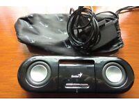 Genius Mini Soundbar - PC or MP3 player/mobile phone.