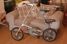 Strida 3 Folding bike. 2 bikes. Full details in add.(Genuine strida)