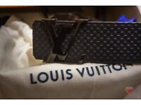 Louis Vuitton Carbon 40mm belt