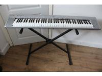 Yamaha NP-30 Portable Grand Digital Piano Keyboard with stand