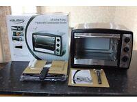 Delonghi Mini Oven, Bush Mini Oven & Two Salter Single Induction Hobs New Unused