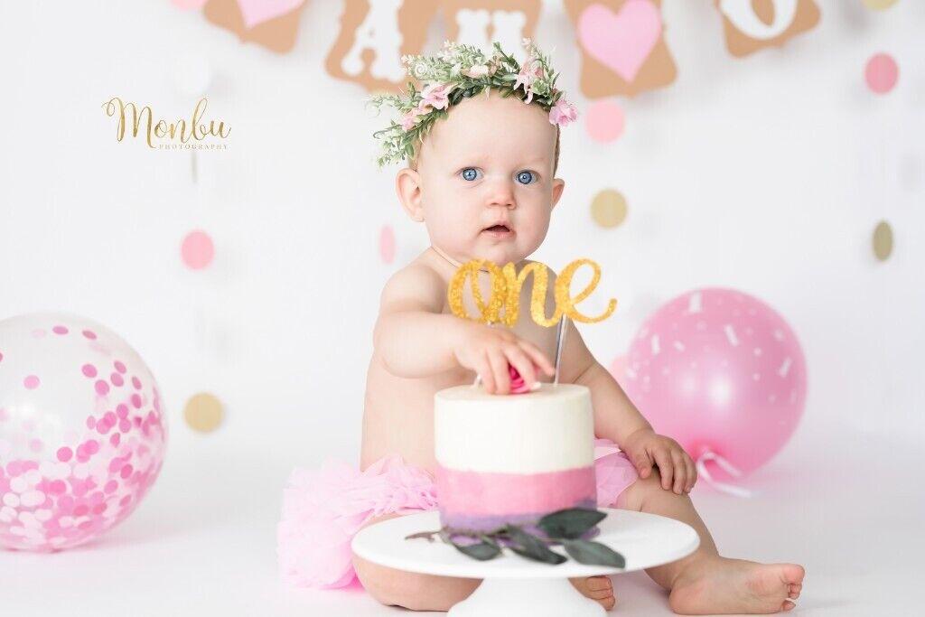 Phenomenal 1St Birthday Cake Smash Splash Photoshoot In Belvedere London Personalised Birthday Cards Veneteletsinfo