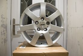 16 inch Autec Arctic Plus 5x112 VW, Skoda, Audi, VAG, Golf, A3 Alloy Wheels