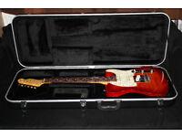 Fender Foto Flame Cherry Burst Deluxe Telecaster 1996 MIJ Japan (Nashville - Strat Hybrid)
