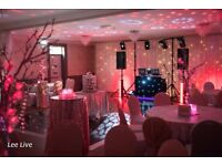 Lee Live: Wedding DJ - 100% Professional - Performed at 750+ Events - 12 years Experience .
