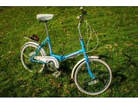 Classic foldable bike / bicycle