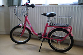 "PUKY 12"" KIDS BIKE Z2 HOT PINK - GERMAN QUALITY - FOR AGES 3-7"