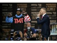 Mayweather vs. McGregor - Press Conference in LONDON. 14th July 2017 ONLY 2 TICKETS REMAINING!!!