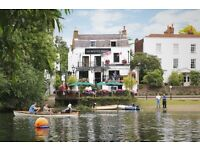 Full and part time bar staff for busy riverside pub