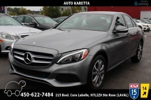 2015 Mercedes-Benz C-Class C300 4MATIC, BLUETOOTH, LED LIGHTS, C