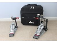 DW9000 Double Bass Pedal in Excellent Condition with Case