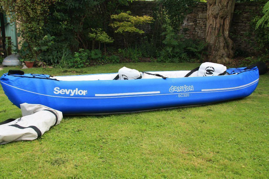 Sevylor Canyon Sc320 Inflatable Kayak In Stroud