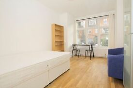 ** INCLUSIVE OF ALL UTILITY BILLS & COUNCIL TAX at £245.00pw Studio Flat with a SEPARATE KITCHEN **