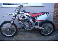 Honda CR 250R Motorcross bike 2007