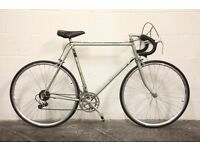 Vintage French & British Racing Road Bikes - PEUGEOT & RALEIGH - REYNOLDS Frames - Restored