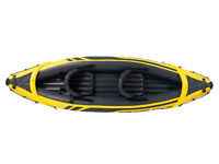 Inflatable 2 Person Kayak - Unopened and Unused