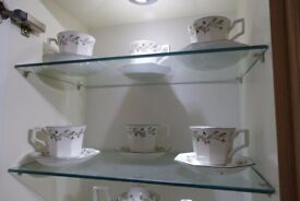 Clover leaf Design Tea Set with extras