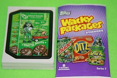 WACKY PACKAGES ANS7 SERIES IN STOCK 55 CARD BASE SET