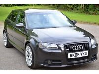 AUDI A3 2.0T FSI QUATTRO SPECIAL EDITION S LINE - SPORTBACK FULLY LOADED VERY RARE CAR!