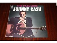 Johnny Cash The Fabulous Johnny Cash Vinyl LP Record