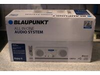 BRAND NEW BLAUPUNKT ALL IN ONE AUDIO SYSTEM BPHF-1R FOR JUST £75