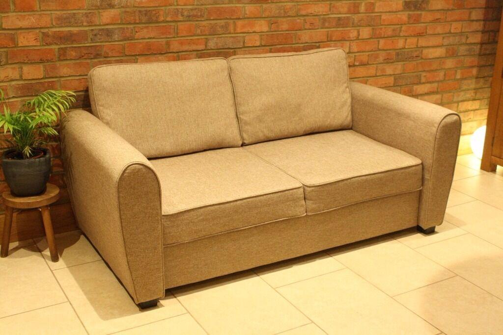 Sofa Bed Argos Siena Wheat Metal Action Foam Mattress