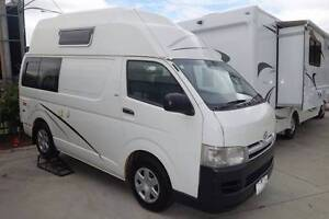 2009 Talvor Toyota Hiace Hitop Camper Northgate Brisbane North East Preview