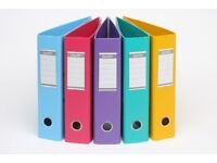 Used Lever Arch Files - A4 size. Sturdy, Good condition, various colours £1.50 each
