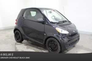 2012 Smart FORTWO COUPE PASSION *NAV AIR CLIM MAGS ÉCR.TACT*