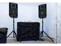 Complete mobile Dj setup: 2x CDJ 900, DJM 900 NEXUS Mixer, 2 RCF Art 725 Active Speakers and more