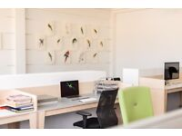 Desks in lovely creative co-working space in Hackney SPECIAL OFFER Half price rent for three months