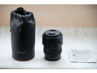 Sony SAL 1680Z lens for sale, near mint condition - £400 ono