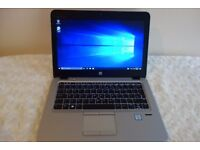 RRP £1239 HP EliteBook 820 G3 i5 6th Gen 256GB SSD 16GB RAM, 2.5 Year Warranty