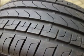 225/50/17 run flat Pirelli tyre 8mm thread