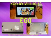"""XGO DY V11 10.1"""" Android Tablet"""