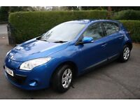 2010 Cat C - Rear only damaged Renault Megane Expression 1.5Dci motd Feb 18 just serviced Low miles