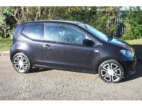 vw high up 2012 32000,miles 999cc £20tax year! black fully loaded!