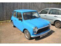 1980 Austin Morris Mini 1000 Classic Car Blue