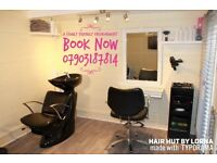 Hair Hut by Lorna hairdressing services at mobile prices Ilford, Essex, Redbridge, Barking, dagenham