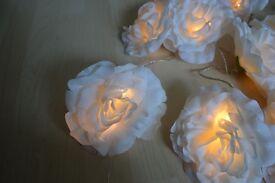 White Flower Fairy Lights